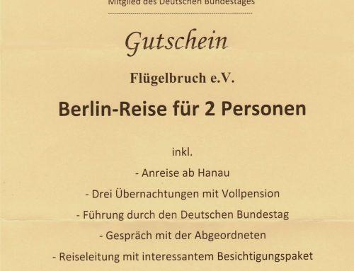 Berlin-Reise für 2 Personen!