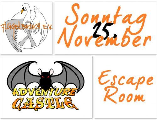 Abenteuer Escape Room!