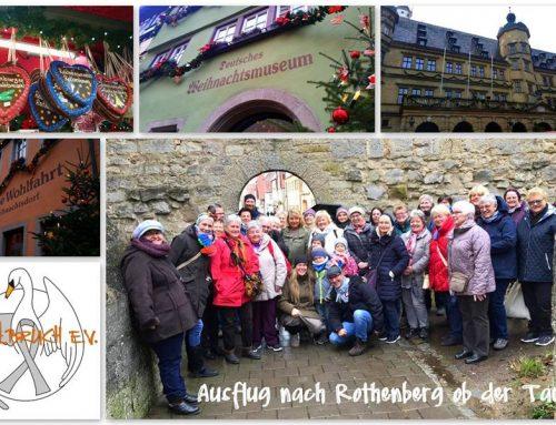 Weihnachtsmarkt in Rothenburg ob der Tauber