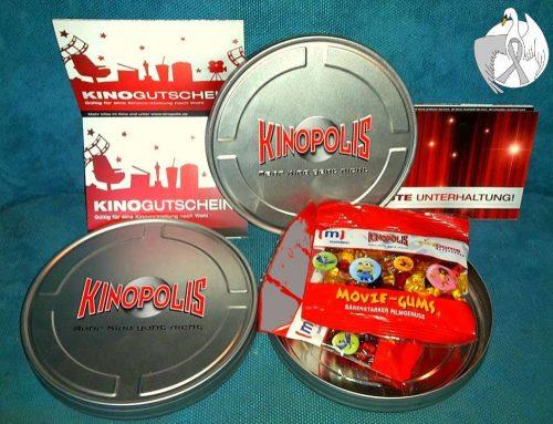 2 Kinogutscheine für's KINOPOLIS Hanau!