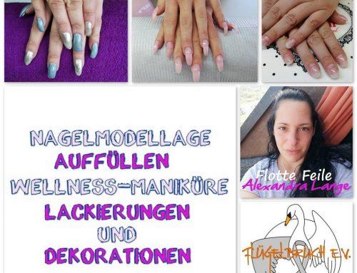 """4 Gutscheine von der lieben Alexandra Lange alias """"Flotte Feile""""!"""