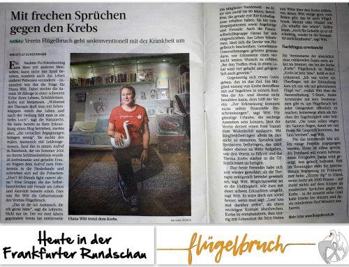 Heute in der Frankfurter Rundschau!